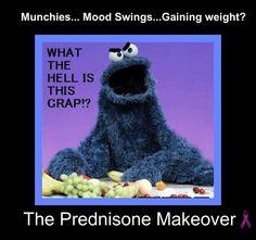 The Prednisone Makeover
