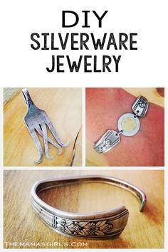 DIY Silverware Jewelry