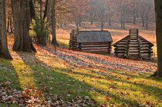 Valley Forge National Historical Park outside Philadelphia, Pennsylvania