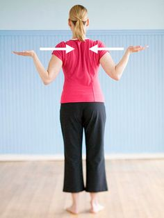 """3 simple """"workouts"""" to help improve posture"""