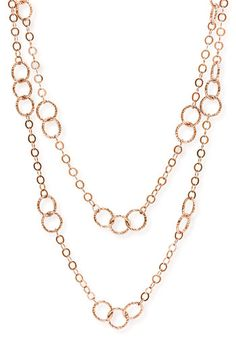 Nordstrom Long Circle Link Necklace available at #Nordstrom