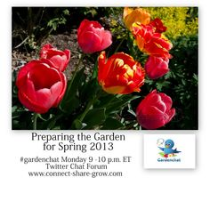 Transcript all about : Preparing the Garden for Spring 3/11/2013 on #gardenchat