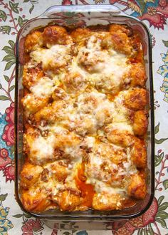 Bubble Up Lasagna - all the flavors of lasagna without all the work