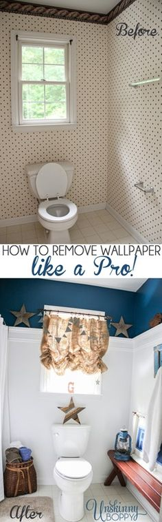 This would have been helpful when we were removing wallpaper at Omi's  How to remove wallpaper like a Pro