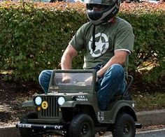 How to Make a Racing Powerwheels Jeep