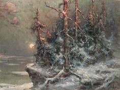 Julius von Klever (Юлий Юльевич Клевер, Russian, 1850-1924)