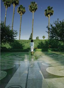 My favorite place in Los Angeles ... Peace Awareness Labyrinth & Gardens