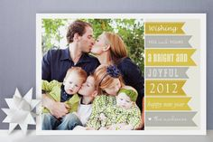new year banners new year's photo cards from minted