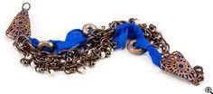 Jewelry Making Idea: Moroccan Azul Bracelet (eebeads.com)