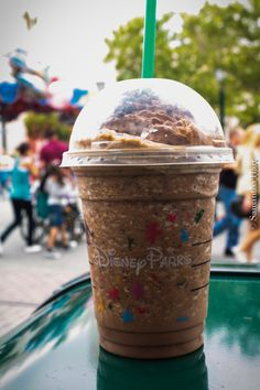disneyphilia:    mocha cookie crumble to accompany opening day….