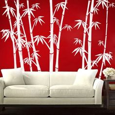 Bamboo Wall Art: Living room?