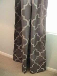These curtains would look great with my new gray living room!