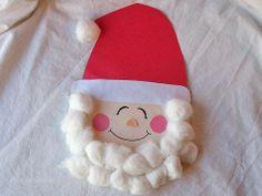 Christmas Crafts: Paper Plate Santa