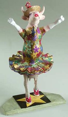 COW PARADE - Dancing Diva