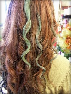 Pastel Chalk Colored Hair