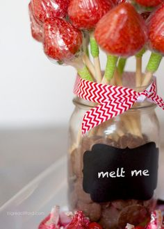 DIY Chocolate Strawb