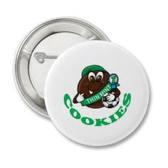 Girl Scout Cookies Pinback Buttons