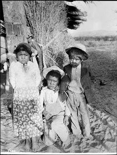 Chemehuevi children - circa 1900