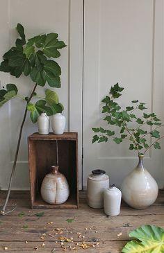 vintage mid century studio pottery