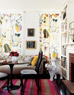 Josef Frank and how to decorate with patterns!