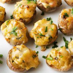 Twice-Baked New Potatoes