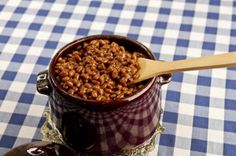 Recipe for Health: Homemade Crockpot Baked Beans