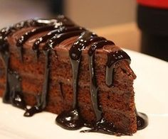 Chocolate with chocolate.