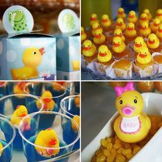 Rubber Ducky Theme: The Treats