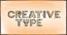 """CREATIVE TYPE_illustrative typography"" by Jorrit van Rijt"