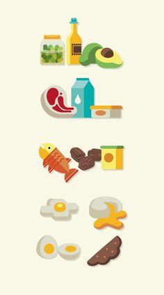 Illustrations for Saúde Magazine on Behance