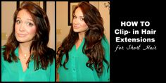 HOW TO Clip in, Blend & Style Hair Extensions! (great for beginners! or those w/ short or thinner hair)
