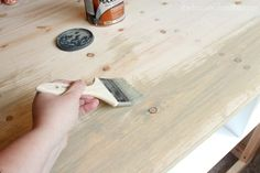 Faux barnwood tutorial