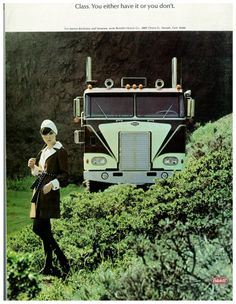 Class Peterbilt Promo. Just love this one. Either have class or you don't!!!!