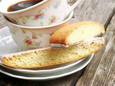 Lemon Biscotti recipe. Like the idea of a little tang to my cookies.