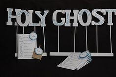 Display for talk on the Holy Ghost
