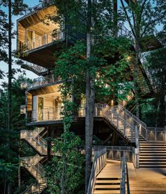 sustainability #Treehouse for the Boy Scouts of America; Mithun #Architects