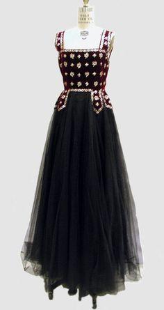 ~1938 evening dress~
