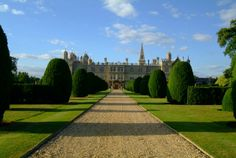 Burghley House in Stamford, Lincolnshire played 'Rosings' in the film Pride and Prejudice!