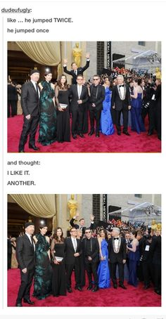 Benedict, you beautiful idiot!