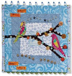 Sew Embellished!: Artistic Little Quilts, book by Cheryl Lynch