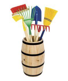 Garden Tool Barrel
