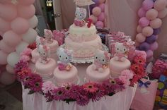 "Photo 2 of 14: Hello Kitty / Birthday ""Aviegayle's 7th birthday"" 
