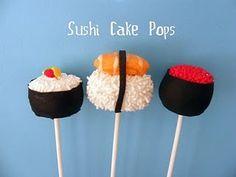 Sushi Cake Pops.