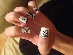 Halloween nails I did