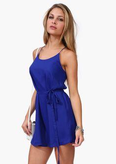 lovely cobalt dress