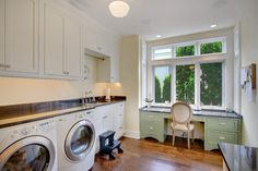 Kirkland Tanditional - traditional - Laundry Room - Seattle - RW Anderson Homes