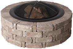 Pavestone Rumblestone™ Fire Pit DIY Instructions