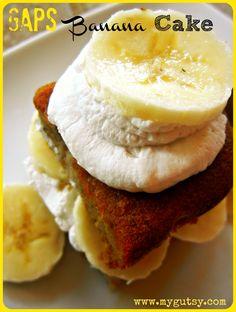GAPS Banana Cake