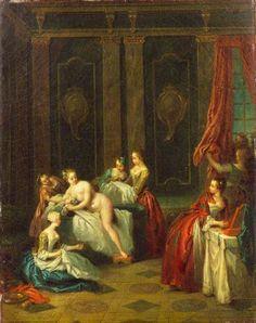 The Bath (Le plaisir de l'été), 1730s, by Jean-Baptiste Pater (after). The Wallace Collection