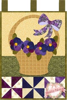 Little Blessings - Pansies for Mom Pattern